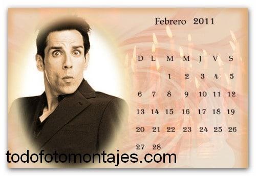 Tu Cara En Este Divertido Fotomontaje De Calendario 2011 O