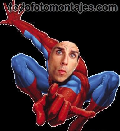 Dejamos Un Fotomontaje Del Hombre Ara  A O Spiderman Para Que Hagan