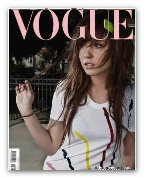 Fotomontaje De Revista Vogue