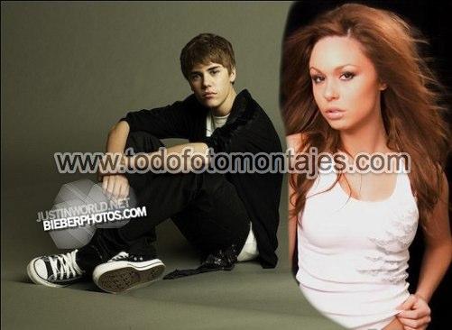 Fotomontaje para hacerte una foto junto a Justin Bieber