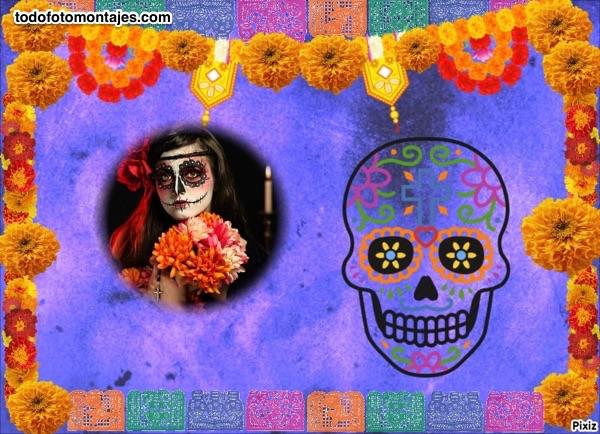 10 Modelos De Fotomontajes De Día De Muertos
